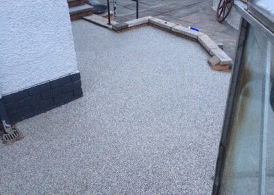 Dunfermline resin patio