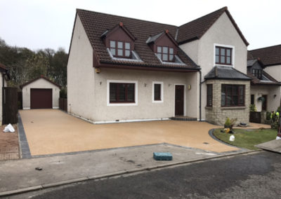 Glenrothes Resin Driveway