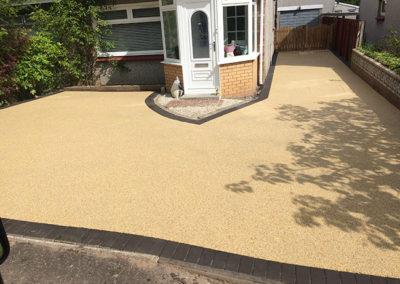 Resin driveway in Hamilton, Glasgow, Scotland
