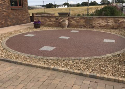 5 North Road Kelty Fife Resin Feature AFTER