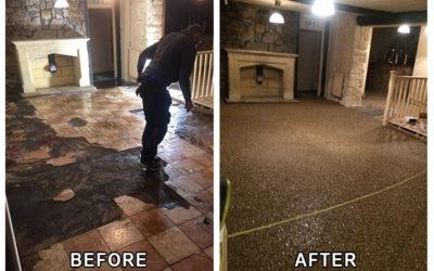 Stag Inn Resin Flooring