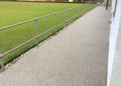 Windygates Fife bowling club Resin Path AFTER 3