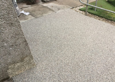 Windygates Fife bowling club Resin Pathway AFTER 2