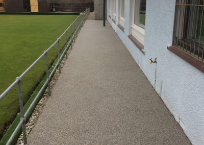 Windygates bowling club Path After