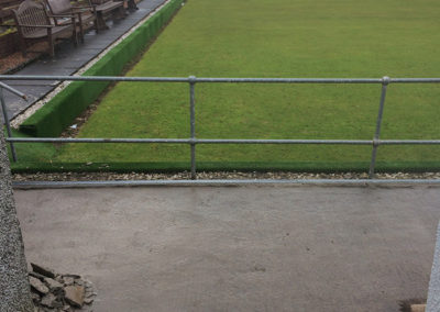 Windygates bowling club Pathway BEFORE 4